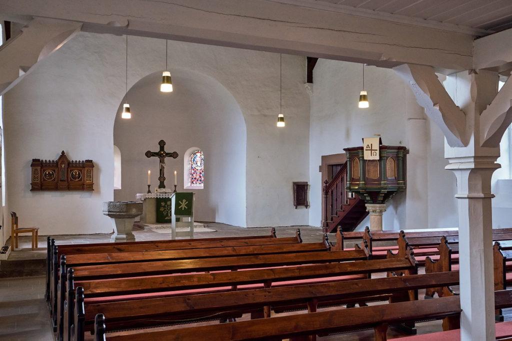 St Vitus Kirche Erbsen • ©Ralf König