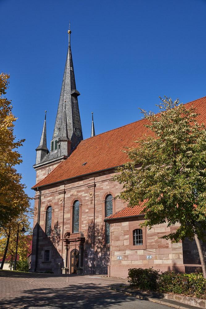 Kath. Pfarrkirche Kosmas und Damian Bilshausen • ©Ralf König