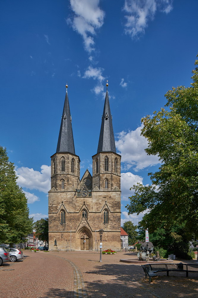 Kath. St. Cyriakus-Propsteikirche Duderstadt • ©Ralf König