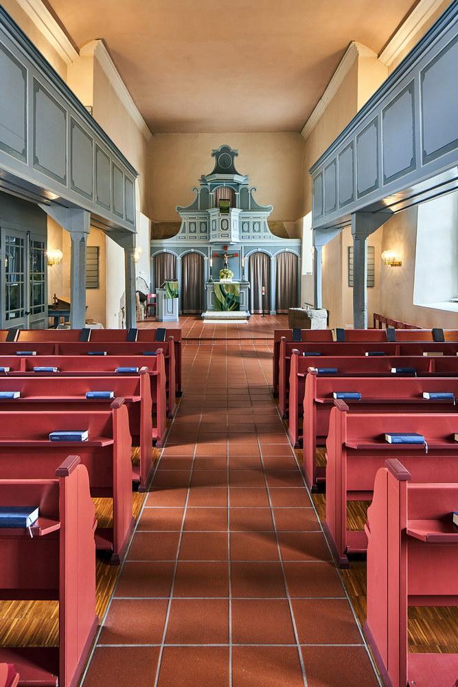 Ev.-luth. Kirche Klein Schneen • ©Ralf König