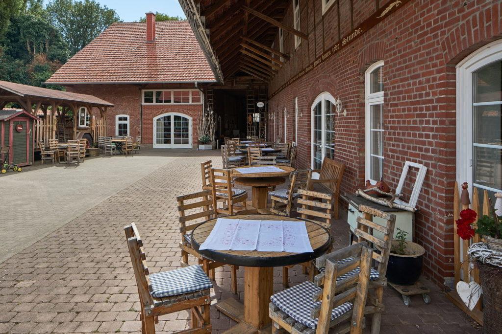 Hofcafé am Pfarrhaus Gieboldehausen • ©Ralf König
