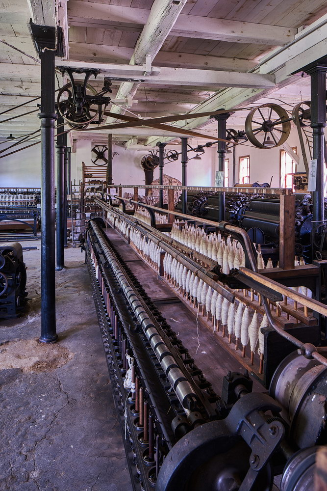 Historische Spinnerei Gartetal • ©Ralf König